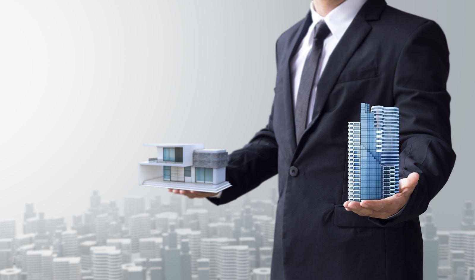 Commercial real estate vs residential real estate